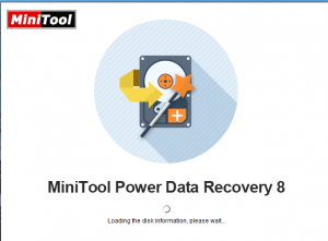 MiniTool Power Data Recovery 8 Crack download With Serial Key