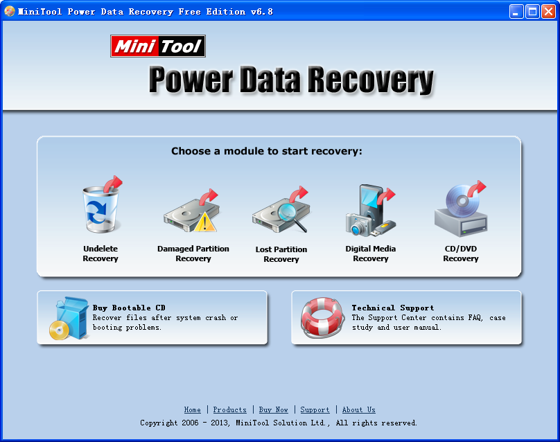 MiniTool Power Data Recovery 8 Registration Code incl Patch Full Version