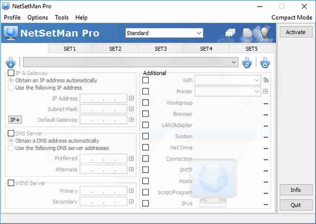 NetSetMan Pro license key Free Download